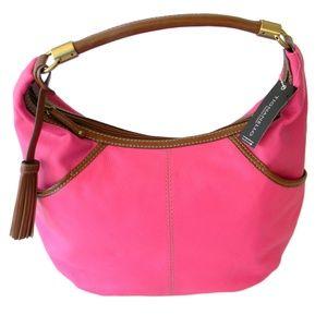 Tignanello Everyday Casual Hobo Hollywood Pink Lea